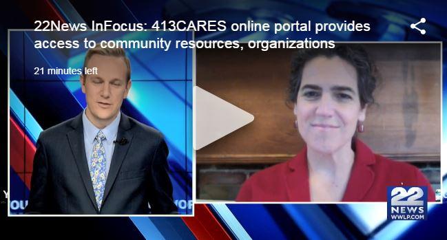 Jessica Collins Speaks to 22News: InFocus on 413Cares