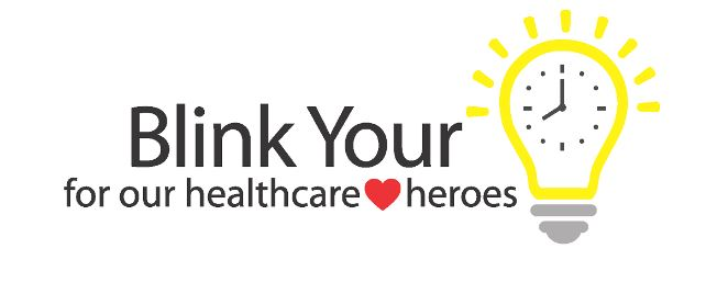 Blink Your Light for Healthcare Heroes!