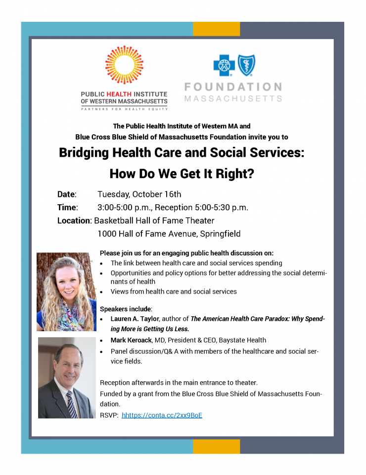 Bridging Health Care and Social Services:  How Do We Get It Right?